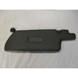 Black Sun Visor Driver Side