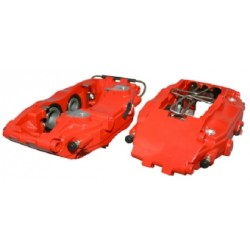 Brake Caliper Set, L/R, Front, Sport, Red, Without E-Mark
