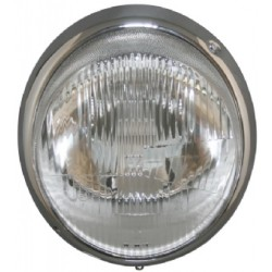 Headlamp With Chrome Rim