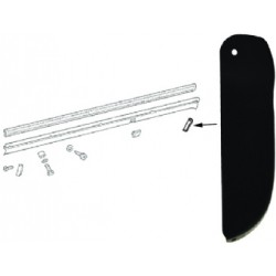 End Piece For Trim Cover, Front- Left Or Rear - Right