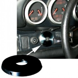 Ignition Switch Cover Plate, Black