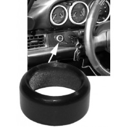Decor Ring For Head Light Switch, Alu, Black