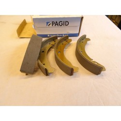 Brake Shoe Set 2 Wheels Without Asbestos