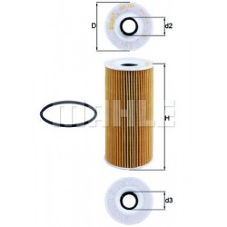 Oil Filter Set OX 366D