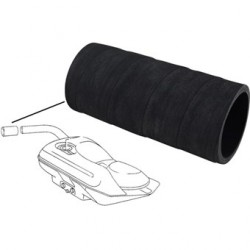 Hose for fuel filler neck, rubber, outer Ø60 mm, inner Ø51 mm, length 132 mm