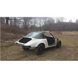 Krockad Kaross 911 Targa -72